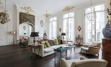 Bringing in French style interior design