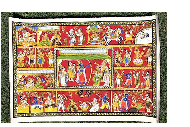 Cheriyal Scroll Paintings