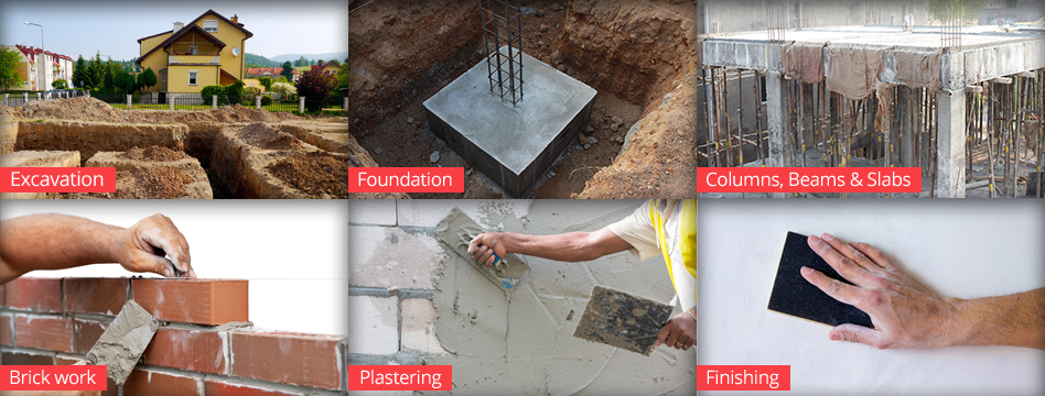 Different Components & Stages of Construction