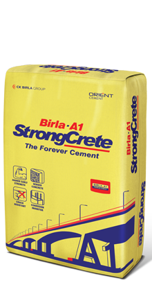 birla.a1 strongcrete - the cement forever