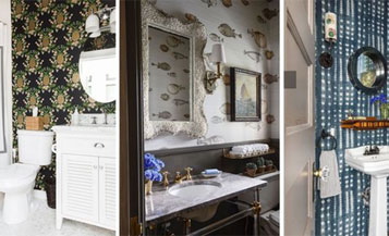 Turn your Powder room from ordinary to extraordinary